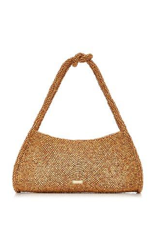 Tala Wood Bead Shoulder Bag