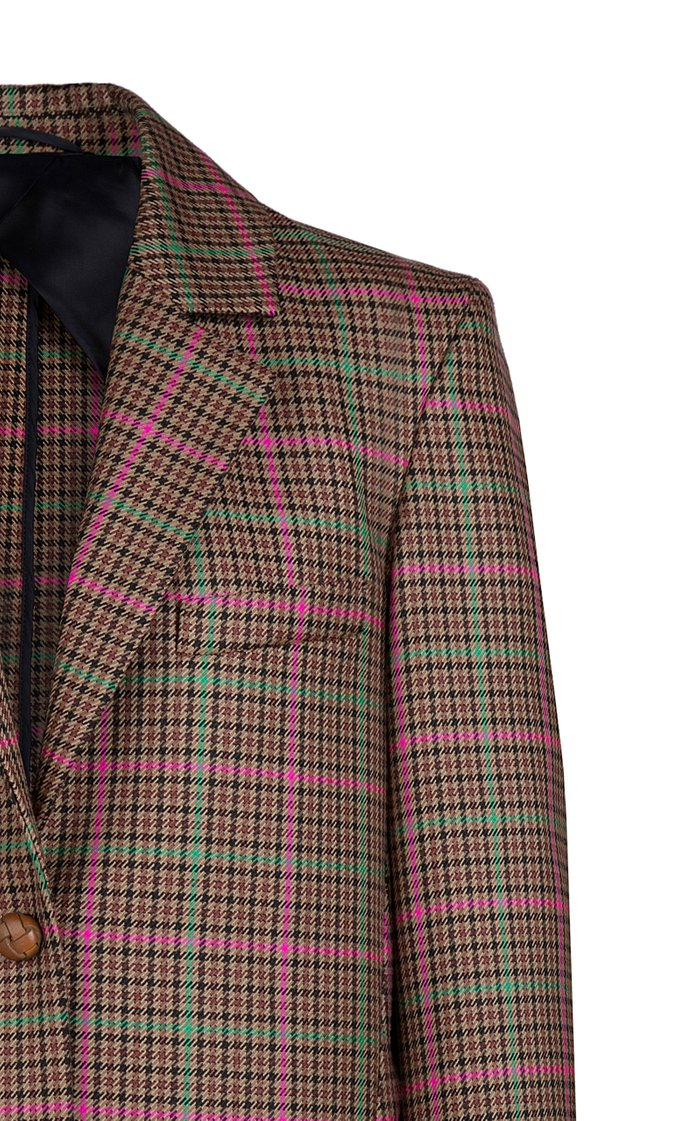 Sirah Wool-Cotton Weekend Blazer