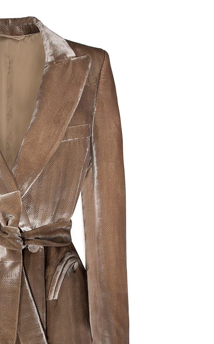 Etoile Velvet Blazer Dress