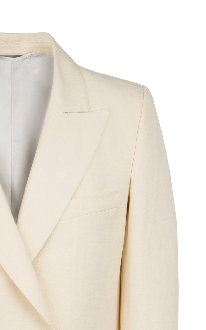 Savannah Linen-Silk Everyday Blazer