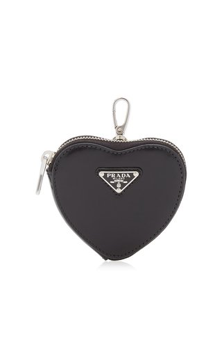 Leather Heart Pouch