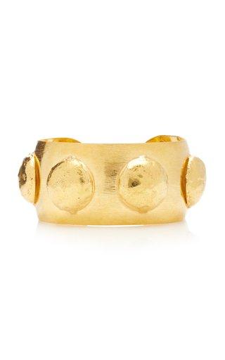 Curve 22K Gold-Plated Cuff