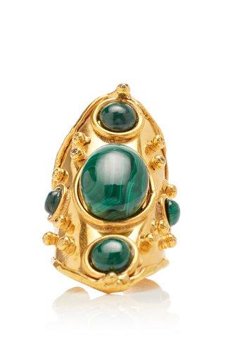 Byzance Malachite Ring