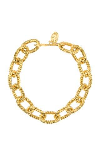 Atlantis 22K Gold-Plated Brass Bracelet