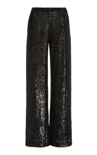Sequined Tulle Pajama Pants