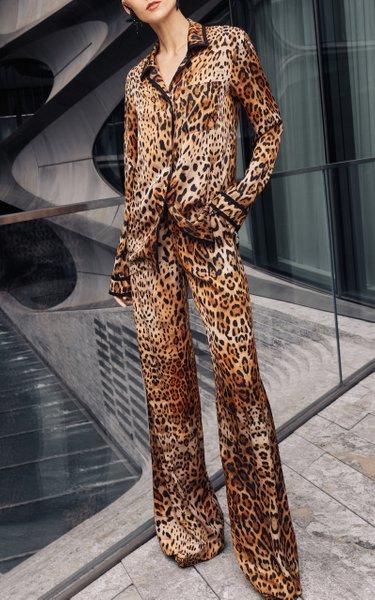 Leopard Pajama Pant