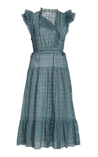 Lucille Broderie Cotton Dress