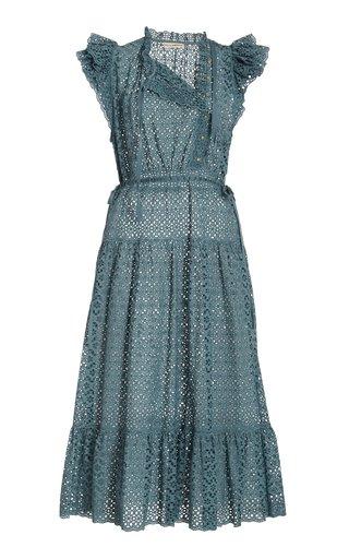 Lucille Broderie Cotton Dress