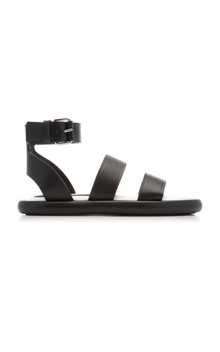 Pipe Leather Sandals