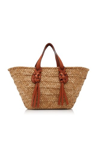 Seaview Wicker Carryall Tote