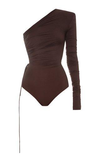 Asymmetric Jersey Bodysuit