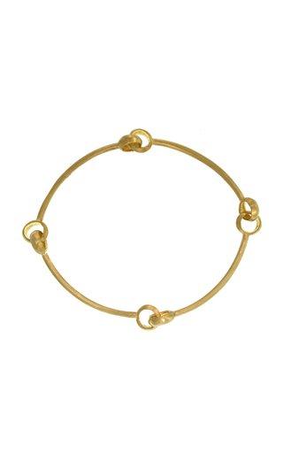 Quad 18K Yellow Gold Bracelet