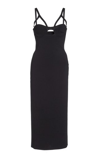 Honour Crepe Midi Dress