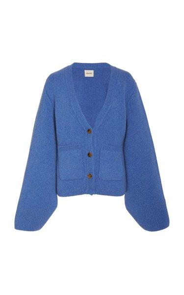 Scarlet Cashmere Knit Cardigan