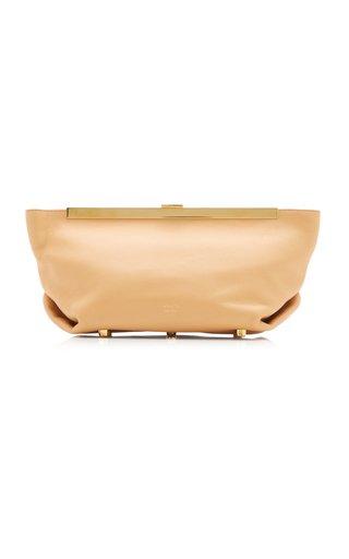Aimee Calf Leather Clutch