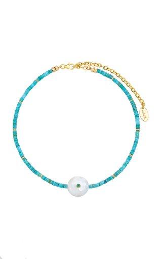Destination Glass Bead Necklace