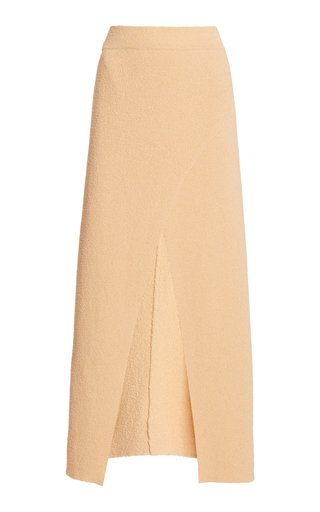 Ainsley Knitted Cotton-Blend Skirt