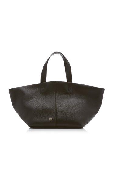 Tulipano Leather Tote Bag