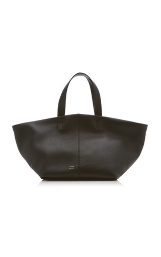 Tulipano Leather Tote Bag