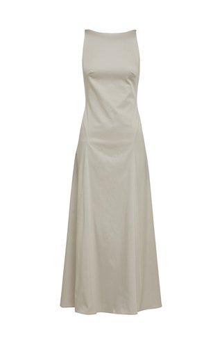 Rouleau Cotton-Blend Dress