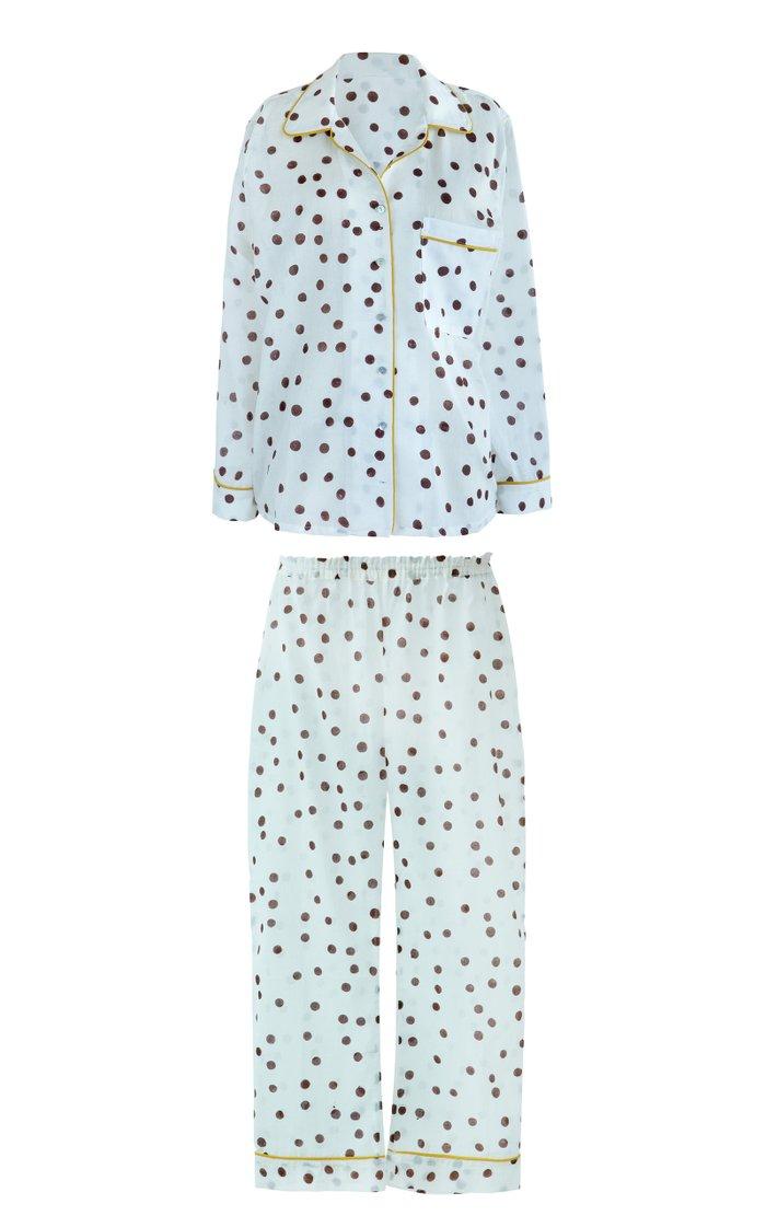 Etoile Printed Cotton Pajama Set