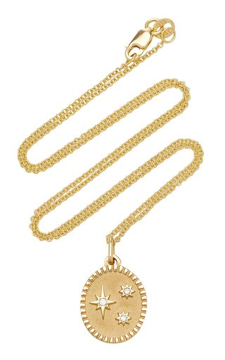 Baby Multi Star 18K Gold Diamond Necklace