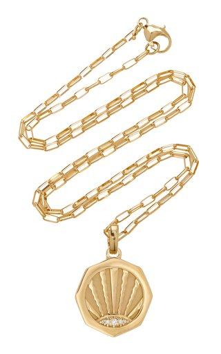 Ray 18K Yellow Gold Diamond Necklace
