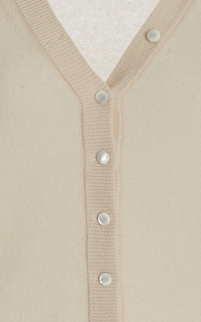 Cashmere Button-Down Cardigan