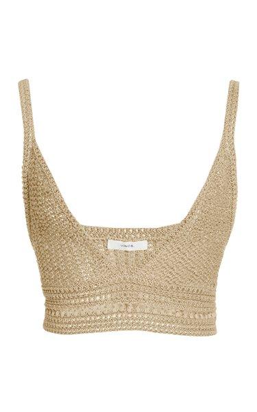 Crochet Cotton Bra Top