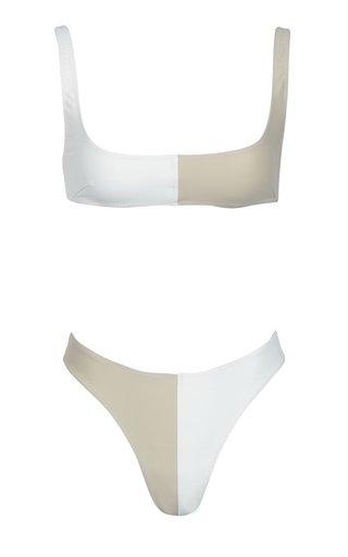 Anna Colorblocked Bikini Set