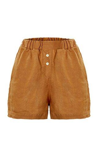 The Gabrielle Linen Shorts