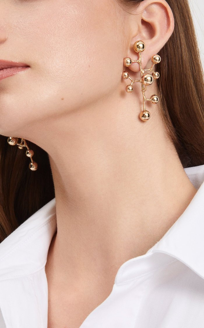 Constellation 18K Yellow Gold Earrings
