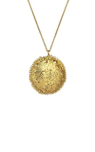 Celestial Sun 18K Yellow Gold Necklace