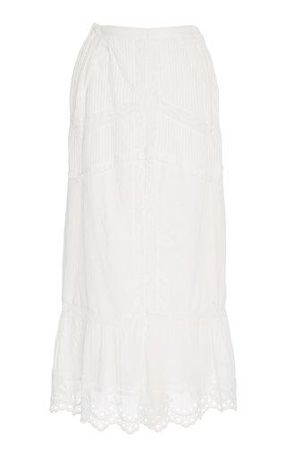 Caius Broderie Maxi Skirt