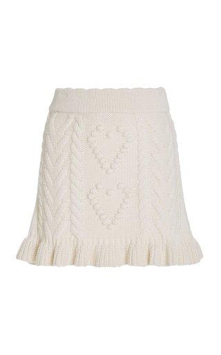 Brendana Knit Mini Skirt