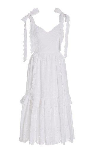 Antonella Broderie Dress