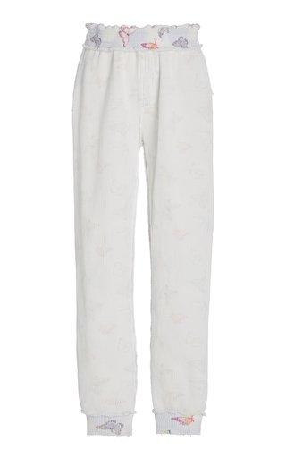 Clea Cotton-Knit Jogger Pants