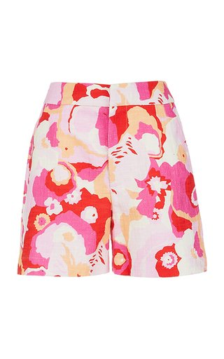 Good Butt Printed Cotton Shorts