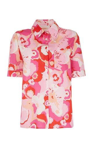 Clerk Printed Cotton Shirt