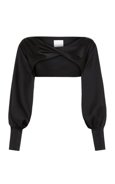Twist Long Sleeve Layer Top
