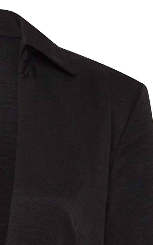 Tom Long Sleeve Plunging V-Neck Dress