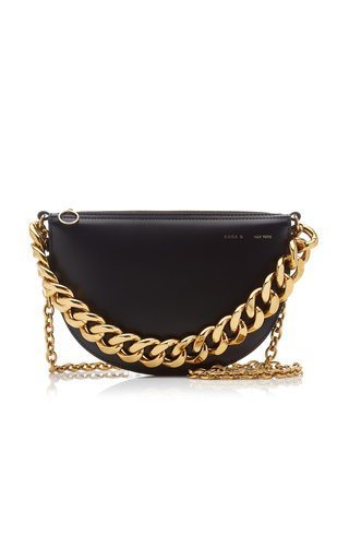Starfruit Chain-Detailed Leather Bag