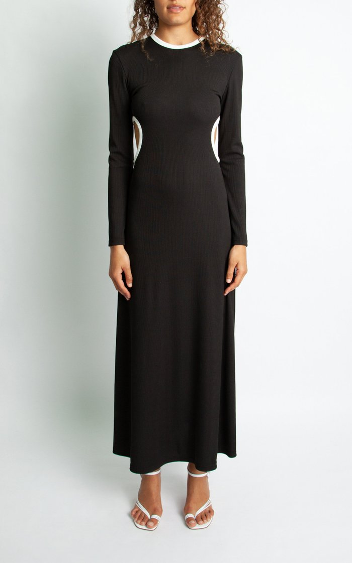 Fran Knit Long Sleeve Dress