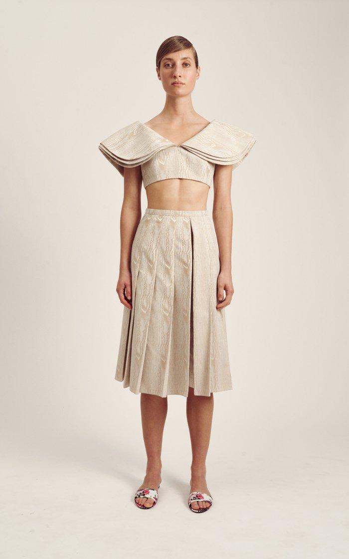 Conell Cotton-Moiré Culottes