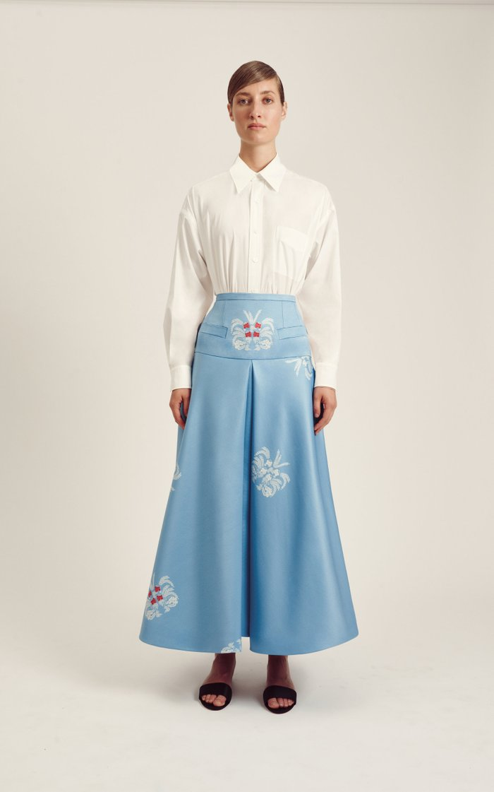 Bayleigh Cotton Button-Down Shirt