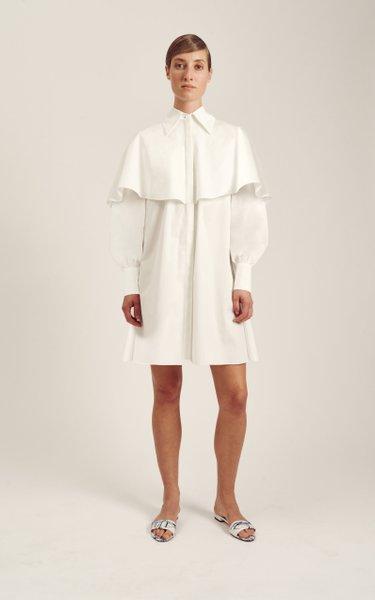 Belva Cotton Shirt Dress