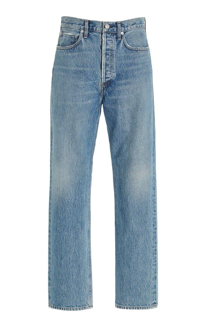 Pinch 90s Rigid High-Rise Straight-Leg Jeans