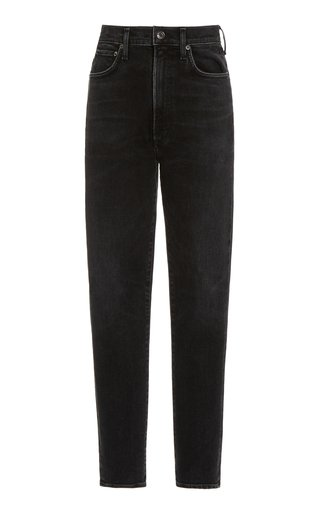 Pinch Waist Ultra High Rise Skinny Jeans
