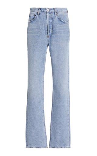 Lana Mid-Rise Vintage Straight Leg Jeans
