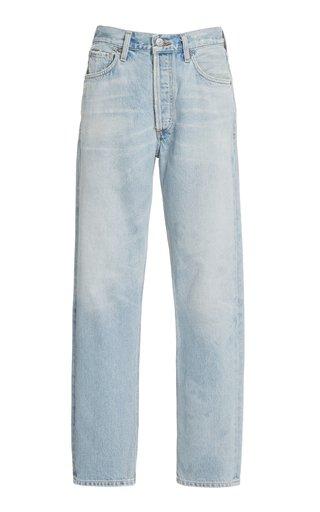 Charlotte Rigid High-Rise Straight-Leg Jeans